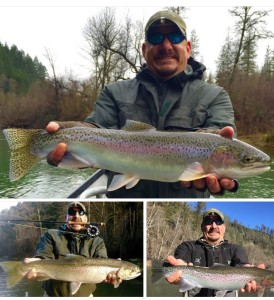 Phil enjoys fly fishing