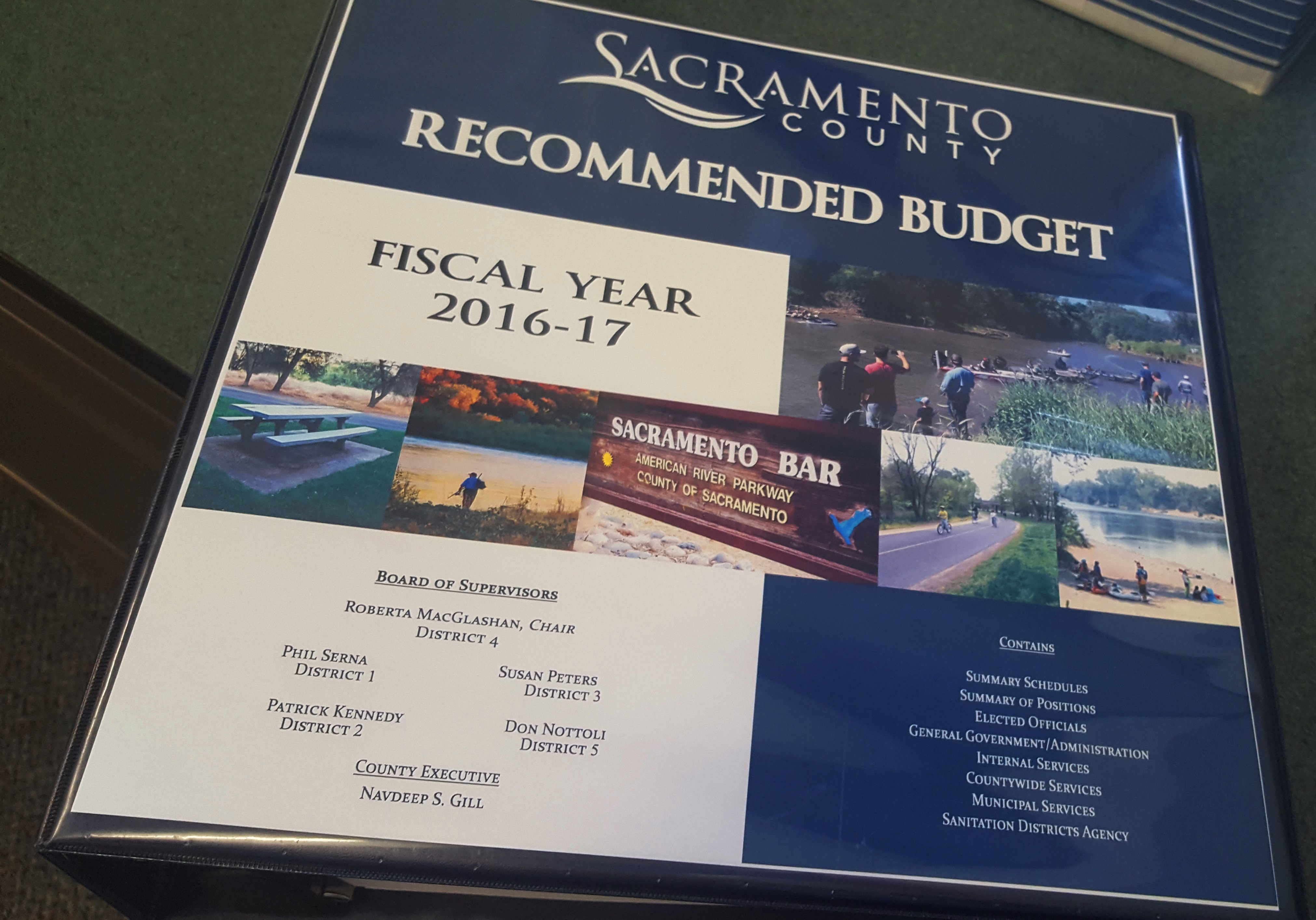 FY 2016-17 Recommended Budget Hearings Conclude