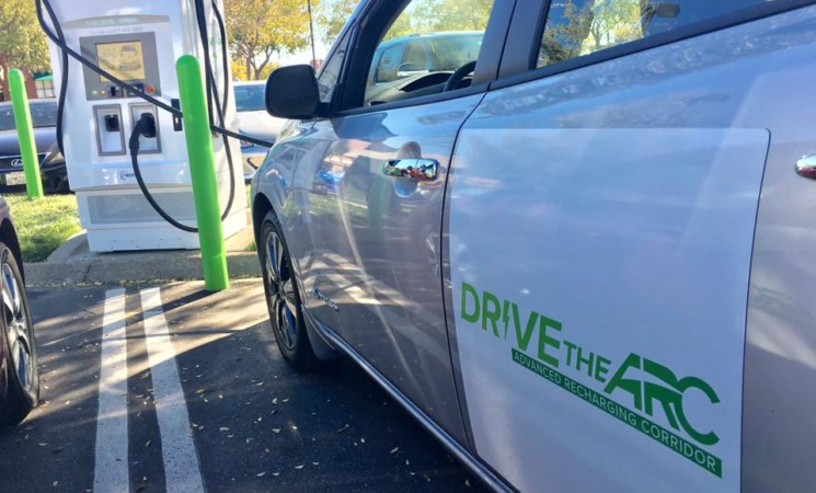 DRIVE THE ARC project promotes EV driving expansion in California