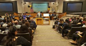 Supervisor Serna gives keynote address at May 11 awards ceremony