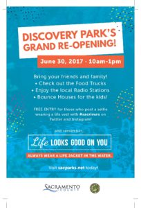 Discovery Park Grand Re-Opening June 30 2017