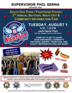 2017 National Night Out poster