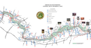 American River Parkway map