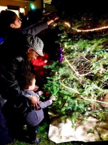 SOPFP inagural tree lighting photo 12-18-17