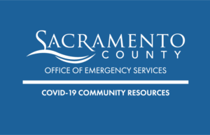 COVID-19 Community Resources webpage image